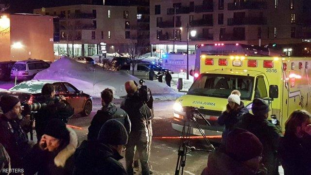 حادثه تروریستی در مسجدی در کبک کانادا باعث کشته شدن ۵ تن شد. نخست وزیر کانادا اعلام همدردی کرد کبک کانادا حادثه تروریستی در مسجدی در کبک کانادا